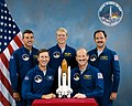 Sts-26-crew blue suits.jpg
