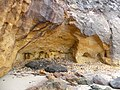 Studland Beach , Redend Point Shallow Cave - geograph.org.uk - 1711512.jpg