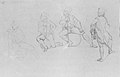 "Study for ""The Siege of Gibraltar""- Officer in Four Poses MET ap60.44.17 verso.jpg"