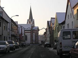 Sulzbach am Main - Image: Sulzbach Spessartstraße