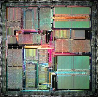 MicroSPARC - Image: Sun micro SPARC II die