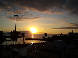 Sunset in Puerto Colon.jpg