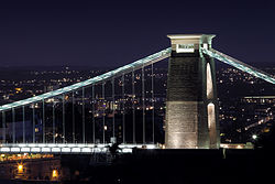 Suspension Bridge from Leigh Woods (15515525651).jpg