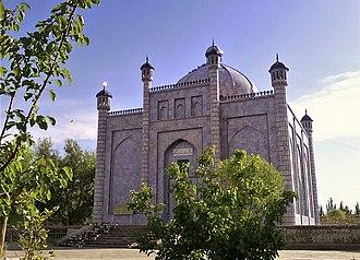 Kara-Khanid Khanate - Tomb of Sultan Satuk Bughra Khan, the first Muslim khan, in Artush, Xinjiang