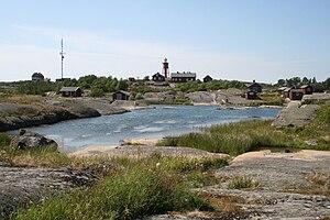 Stockholm archipelago - Image: Svenska Hogarna Hamn