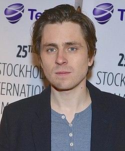 Sverrir Gudnason indfører premieren af Gentlemen på Stockholms filmfestival 2014.
