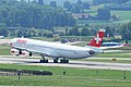 Swiss Airbus A340-300; HB-JMC@ZRH;16.07.2010 583cd (4799607093).jpg