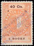 Switzerland Lucerne 1899 revenue 6 40c - 81 - E 11 99.jpg