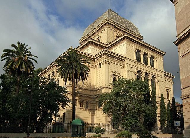 Sinagoga de Roma, dentro del Guetto Judío. Fuente: Wikipedia