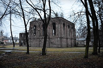 Velyki Mosty - Image: Synagogue in Velyki Mosty (01)