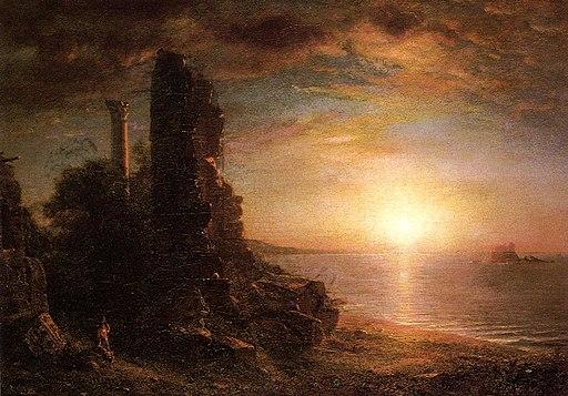 Syrian Landscape (1873) Frederic Edwin Church