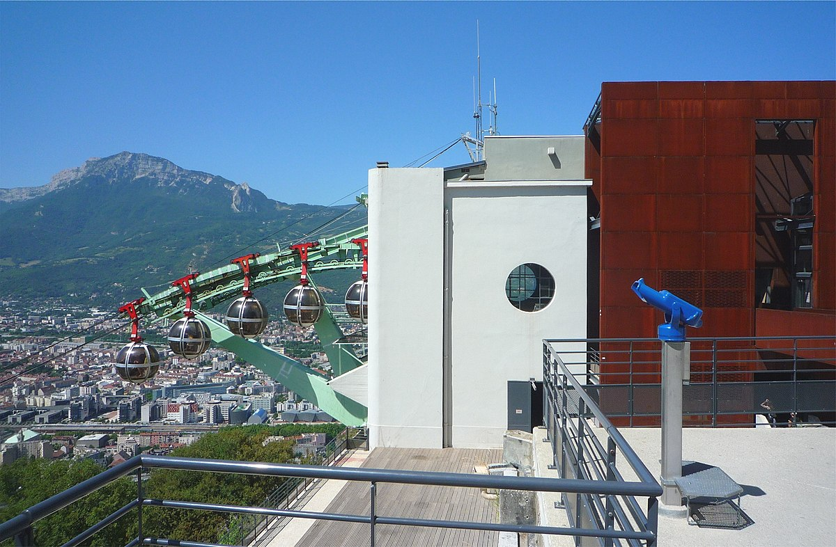 Grenoble Bastille Cable Car Wikipedia