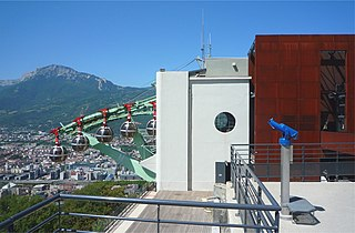 Grenoble-Bastille cable car