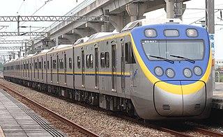 EMU800 series Passenger train in Taiwan