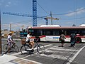 TTC bus on Queen's Quay, at Lower Jarvis, 2016 07 05 (3).JPG - panoramio.jpg
