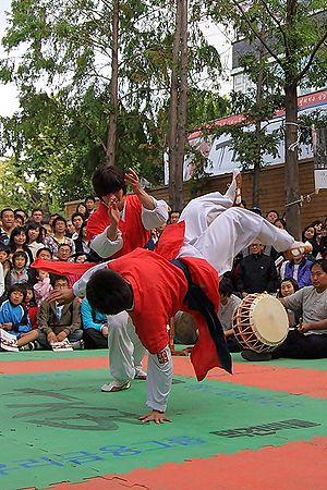 Taekkyeon - Nal-Chi-Gi