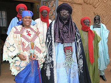 Tahoua niger traditional chief 2009