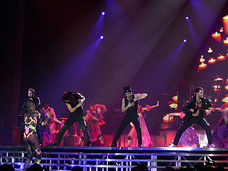 Take That - Take That performing at the Newcastle Metro Radio Arena in 2007