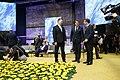 Tallinn Digital Summit. Round table Jüri Ratas, Xavier Bettel, Emmanuel Macron (37343573936).jpg