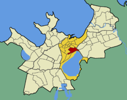 Juhkentali within the district of Kesklinn (Midtown).