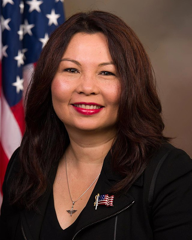 Tammy Duckworth, official portrait, 113th Congress (cropped)