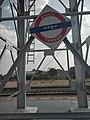 Tandur railway station signboard.jpg