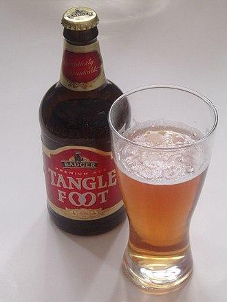 Hall & Woodhouse - Tanglefoot beer