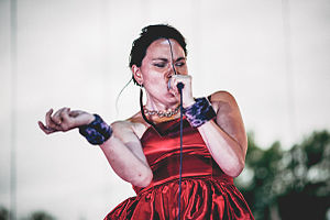 Juno Award for Indigenous Music Album of the Year - Singer Tanya Tagaq was the 2015 recipient of the award for her album Animism.