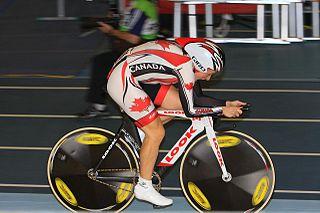 Tara Whitten Canadian track racing cyclist
