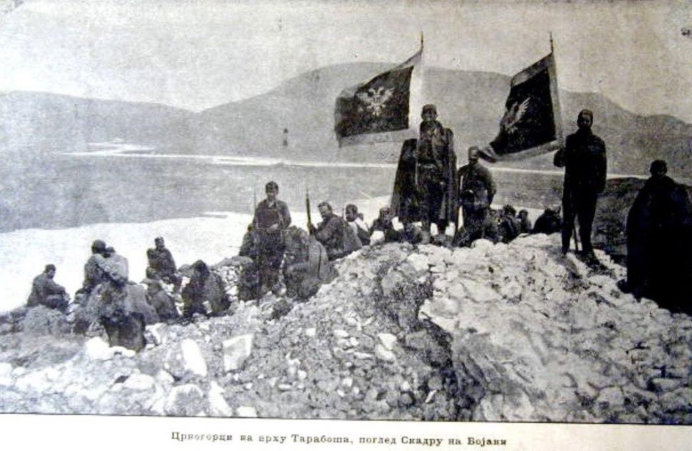 Tarabos kod Skadra 1913