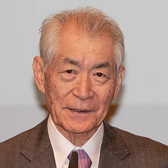 Tasuku Honjo - at Nobel press conference in Stockholm, December 2018