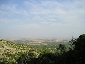 Tavoliere delle Puglie - The Tavoliere seen from the Gargano promontory.