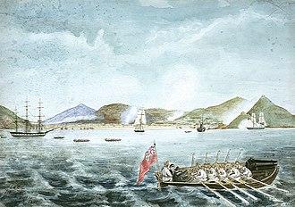 Battle of Chinhai - Image: Tching Hie 1841