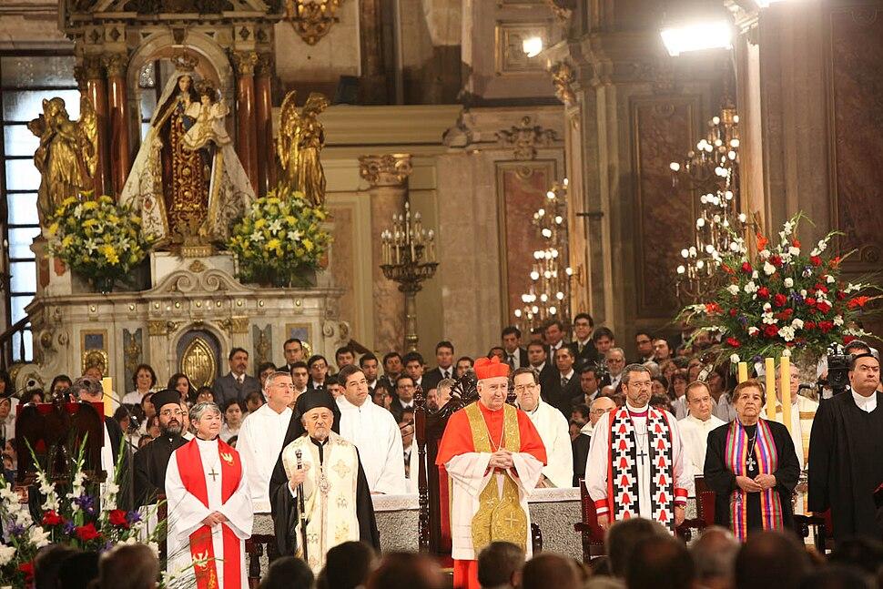 Te Deum Ecuménico 2009