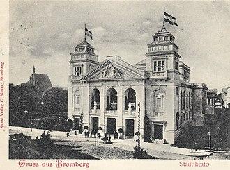 Municipal Theatre in Bydgoszcz - Image: Teatr 1905