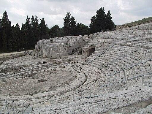 Teatro griego de Siracusa 2