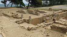 Temple to Serapis at Empúries