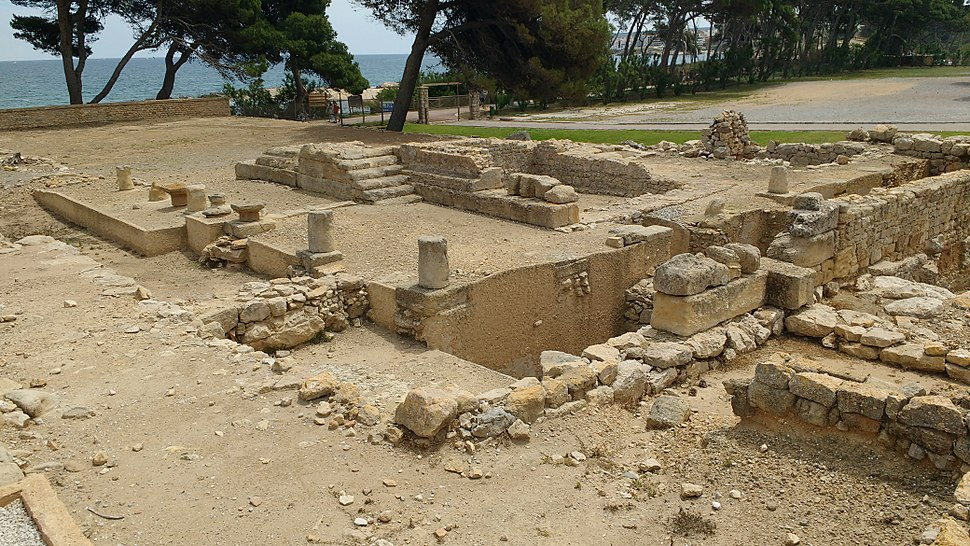 Temple to Serapis at Empúries