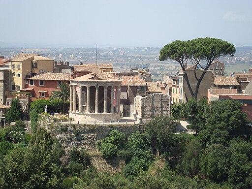 Temples Sibylle et Vesta 4