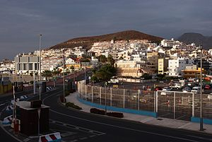 English: The harbour of Los Cristianos, Tenerife