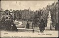 Teodozy Bahrynowicz - Lwów, park i pomnik Kilińskiego (1906).jpg