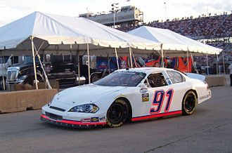 Start and park - Terry Cook's 91 MSRP Chevy in 2009.