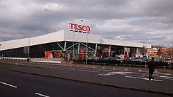 Tesco przy ul. Narborought Road