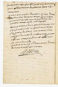 Testament de Louis XIV. Page 15 - Archives Nationales - AE-I-25 n°1.jpg