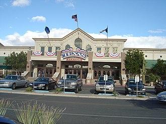 Texas Station - Image: Texas Station entrance