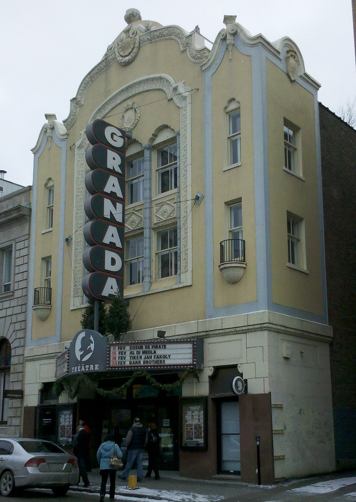 Granada Theatre Sherbrooke Wikipedia