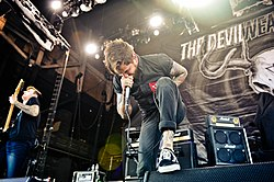 The Devil Wears Prada al Mayhem Festival del 2012