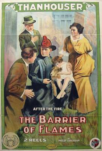 The Barrier of Flames - Image: The Barrier of Flames 1914