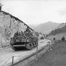 The British Army in Italy 1945 NA24933