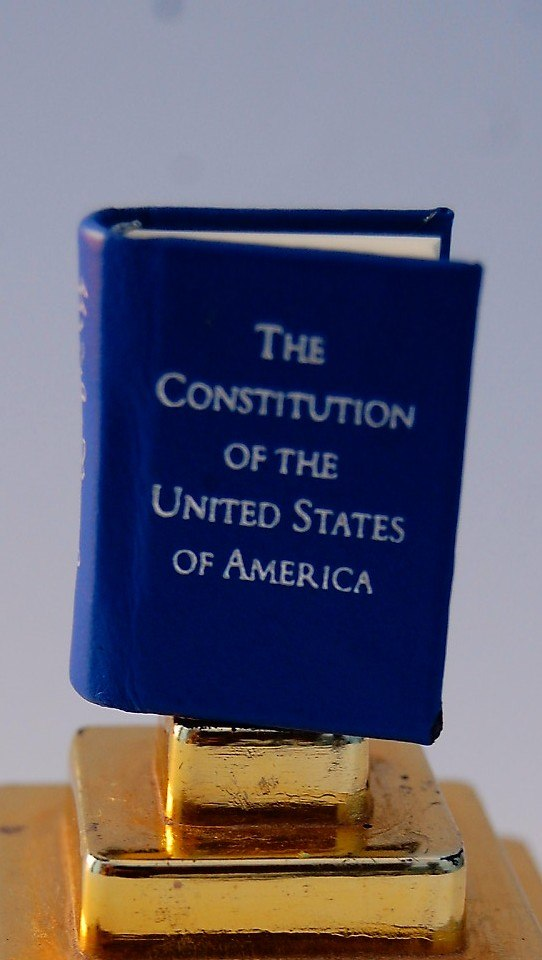 The Constitution of the United States (miniature version)
